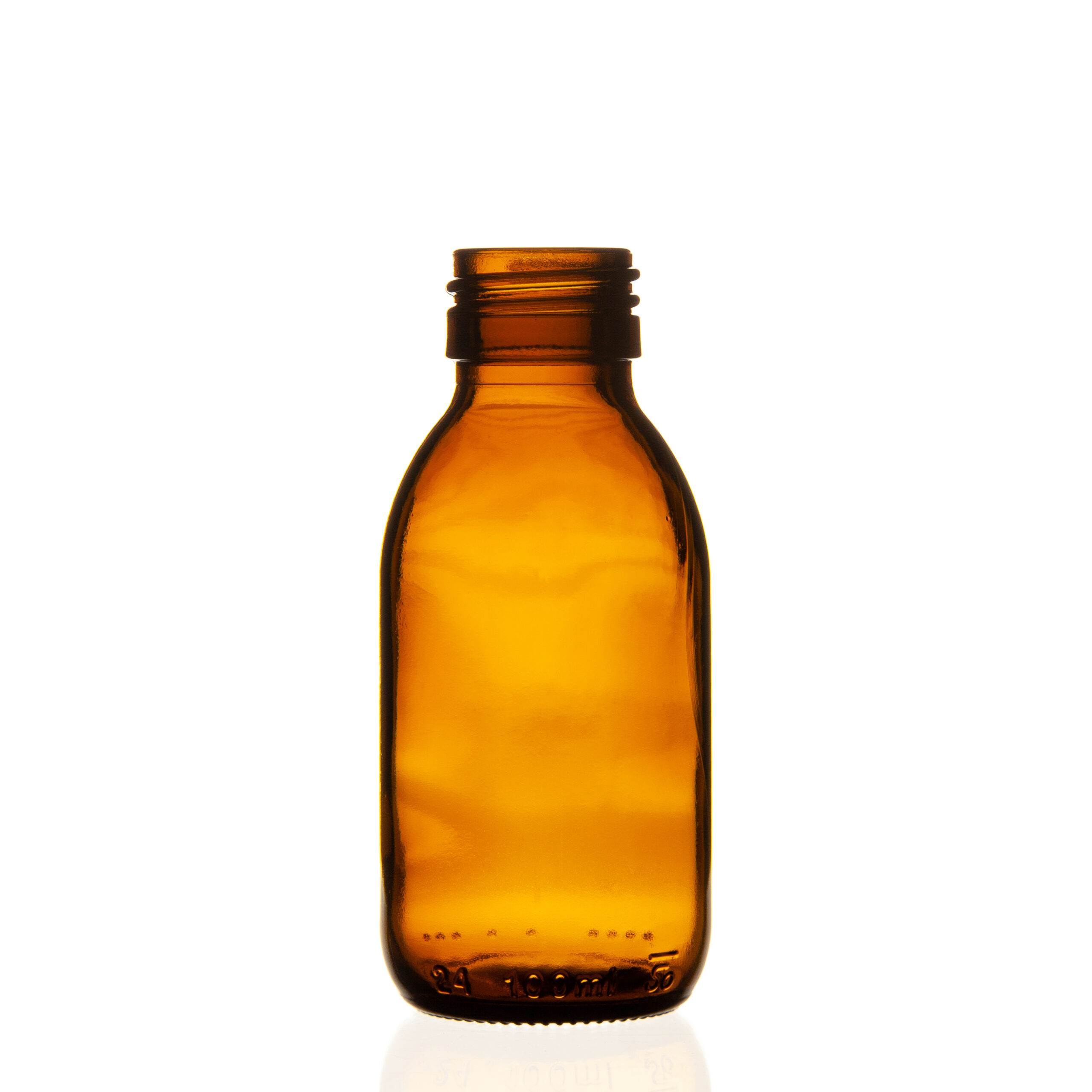 PPF28 Mouth Topaz PET Bottle 60ml