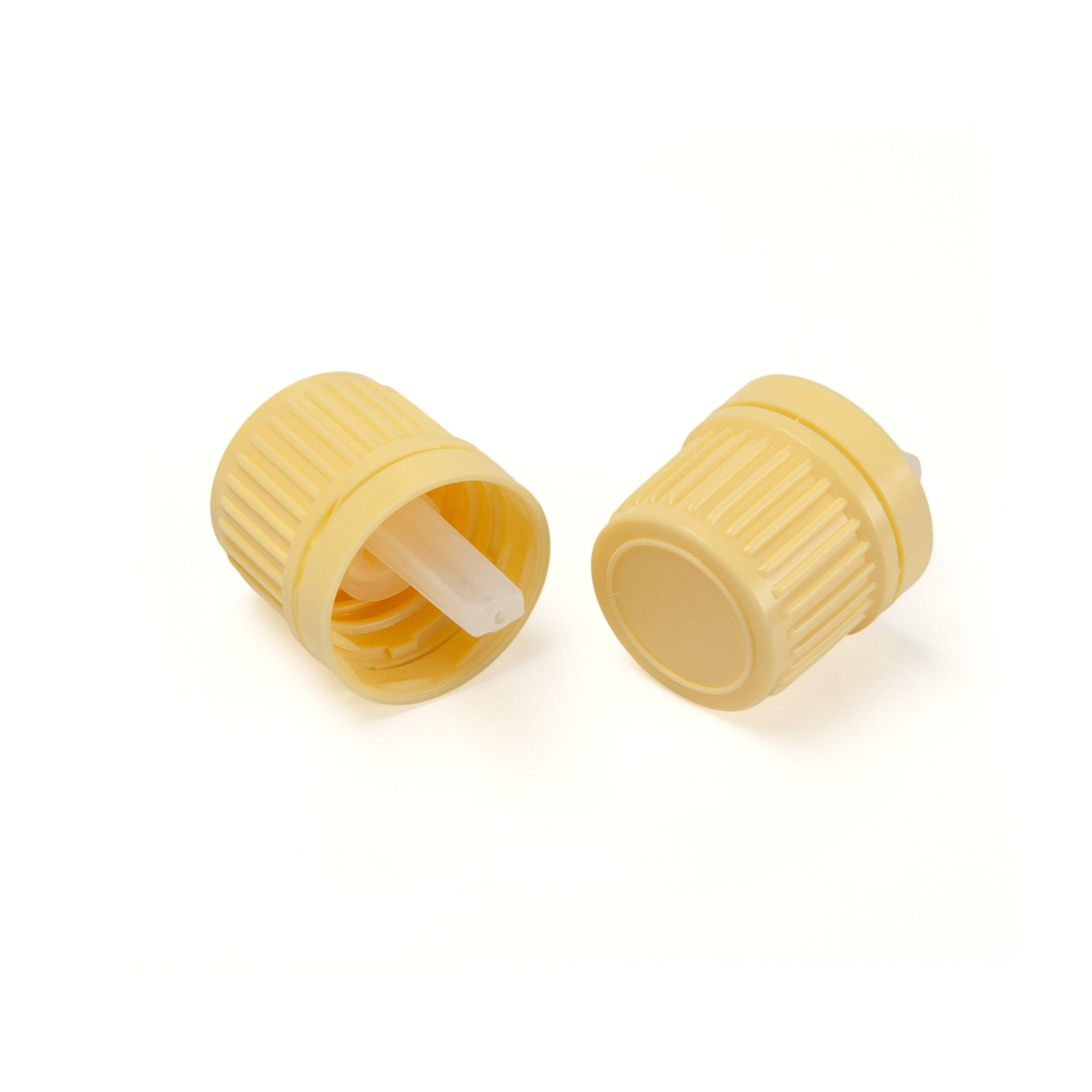 Ivory DIN18 vertical dropper cap