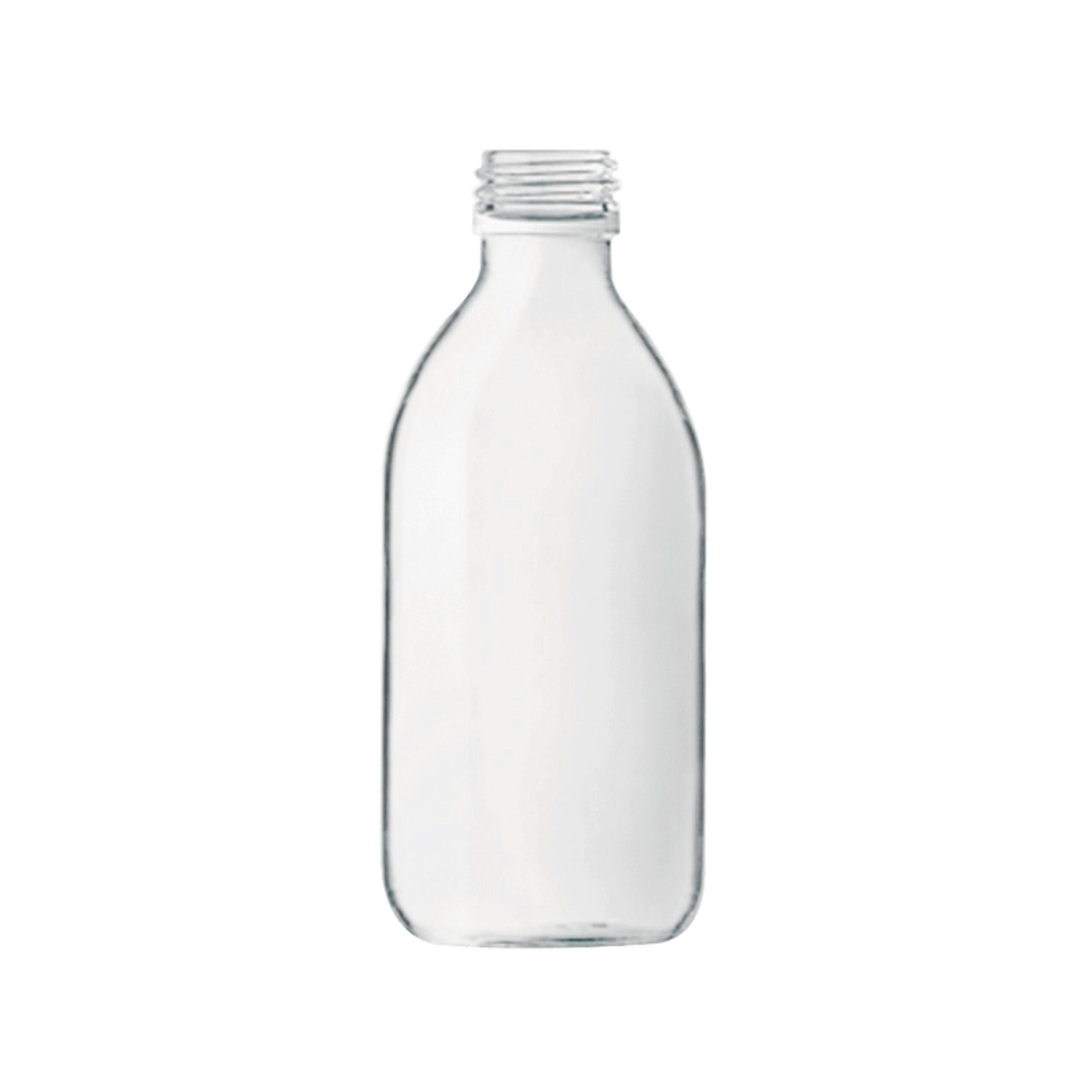 Frascos vidrio blanco 250ml PPF28